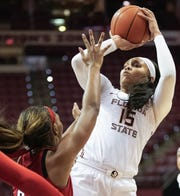 Florida State redshirt junior forward Kiah Gillespie scored nine points and grabbed four rebounds against NC State on Thursday night.