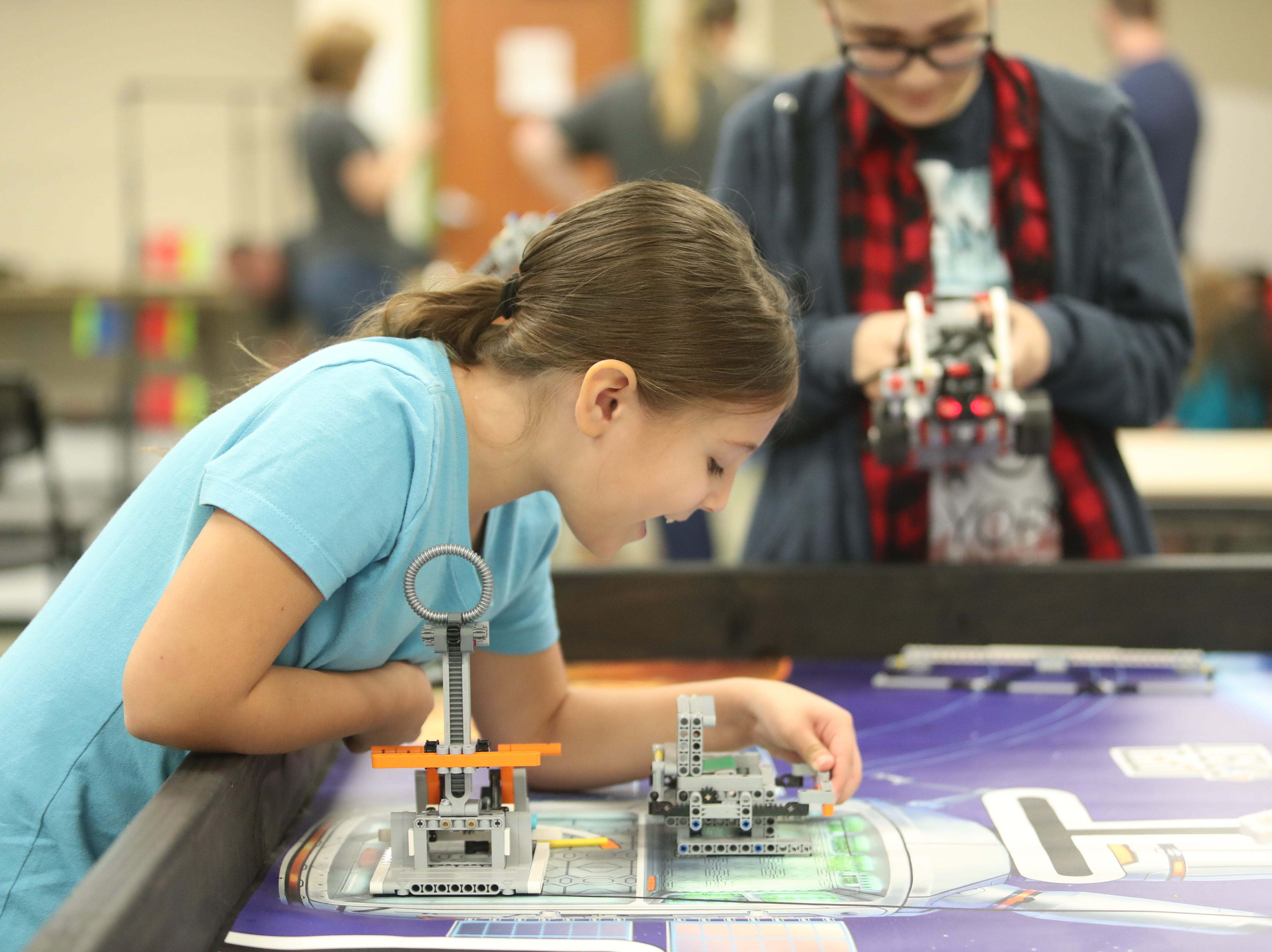 Schools, businesses and local agencies presented many types of interactive STEM exhibits at the STEMtastic Day of Discovery on Saturday, Feb. 9, 2019, in Fort Myers.