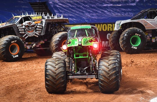 Tricked-out monster trucks will take over Thompson-Boling Arena on Saturday and Sunday.