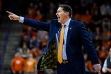 Clemson head coach Brad Brownell talks about their victory over Virginia Tech on Saturday, Feb. 9, 2019