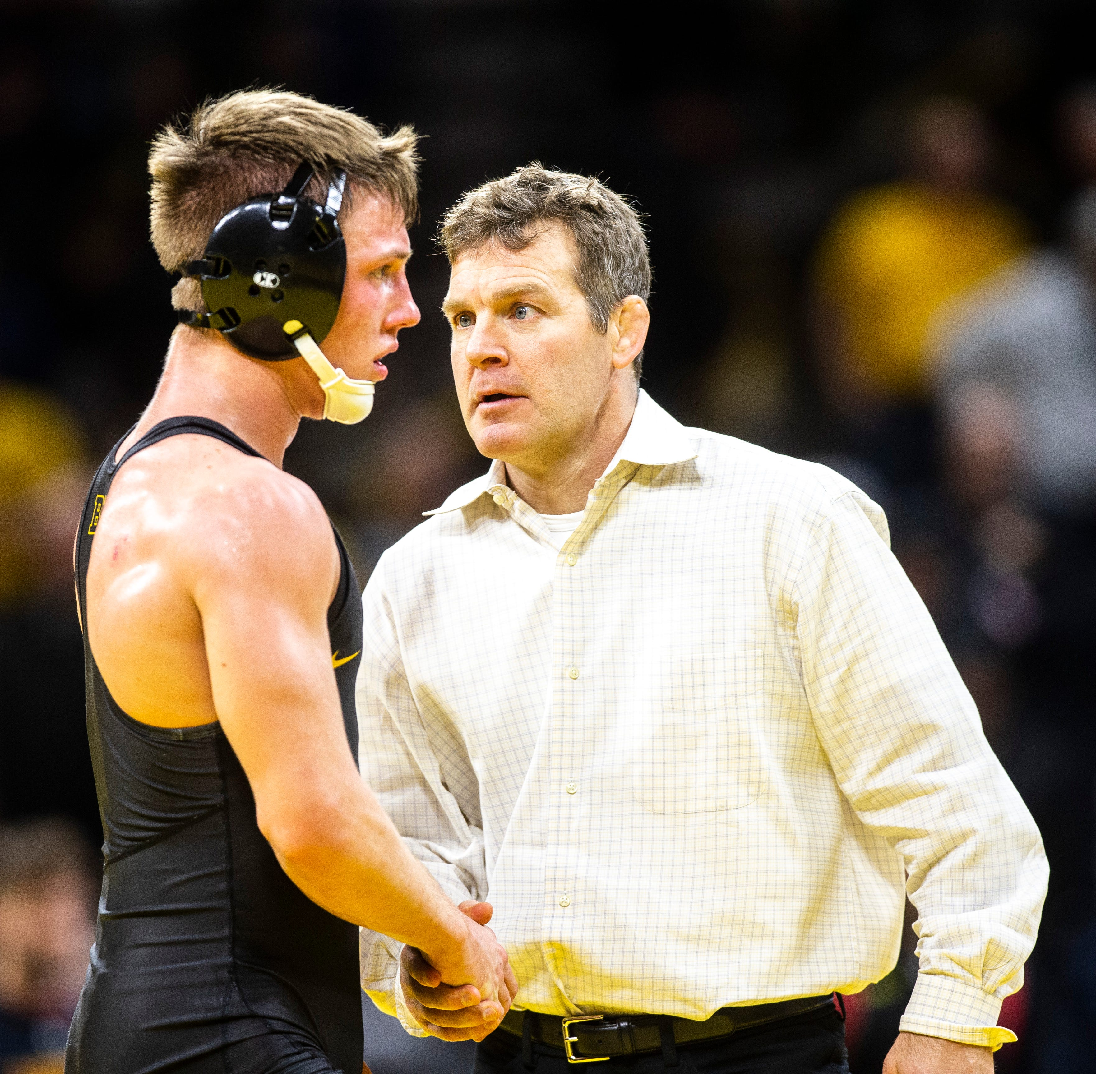 Wrestling Mailbag: Looking at Iowa's Big 3, hands to the face, Spencer Lee and Alex Marinelli