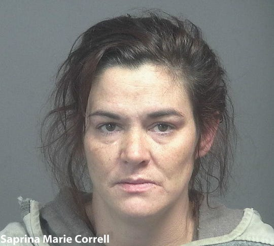 Saprina Marie Correll, 36, of Maryville, was arrested on outstanding warrants for violation of probation and failure to appear on Friday.