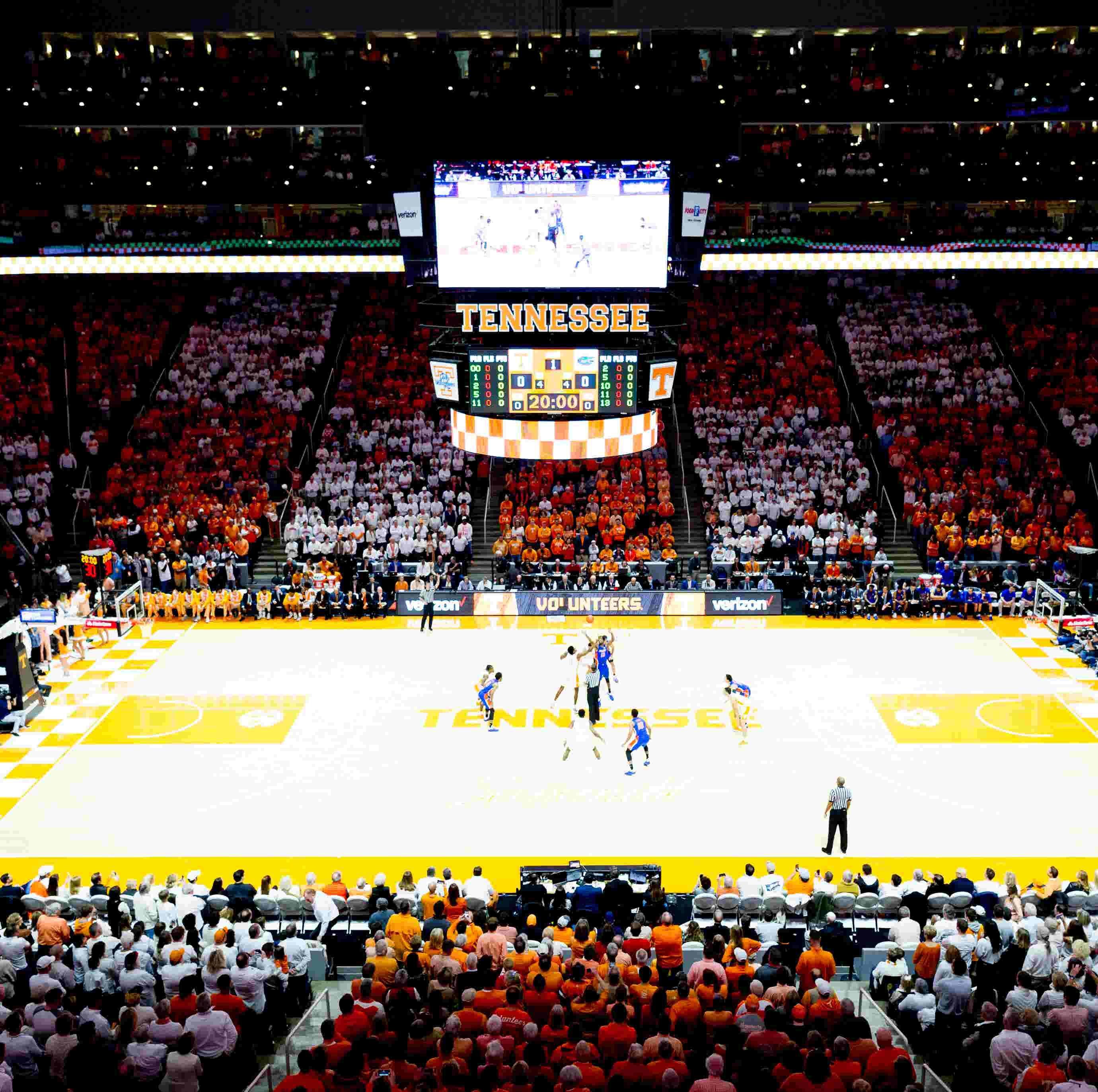 No 1 Ut Vols Basketball Phone App Gives Stunning Pregame