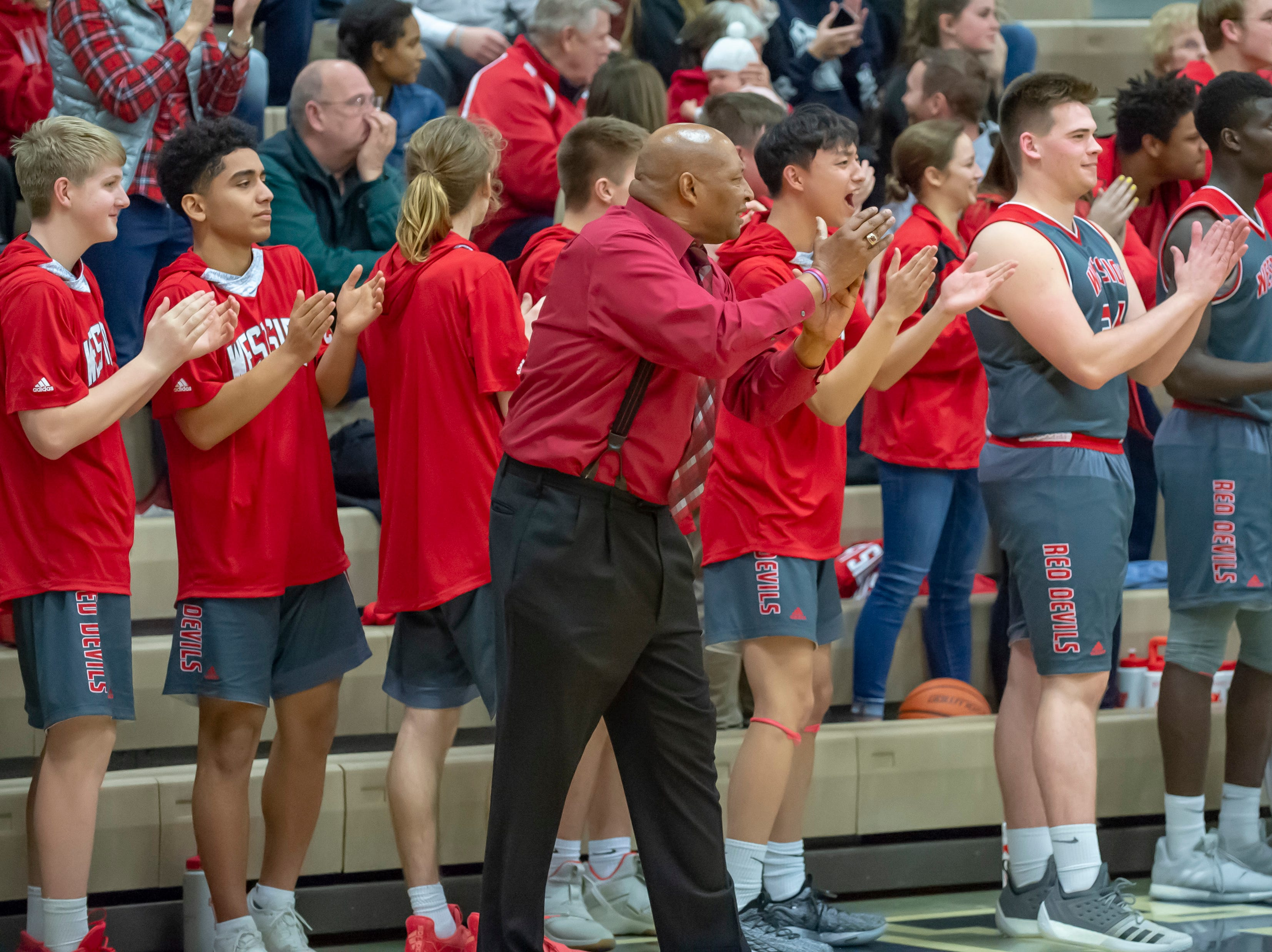 Action from the West Lafayette at Central Catholic boys basketball rivalry game on 2/8/19