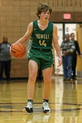Howell's Bobby Samples was 3-for-3 from 3-point range in a 46-44 loss to No. 6 Canton.