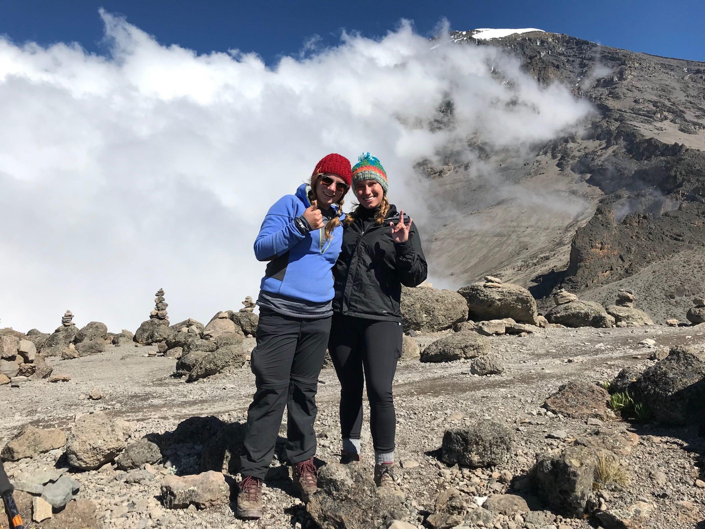 Jordan and Elliott Grantz Mount Kilimanjaro, Tanzania