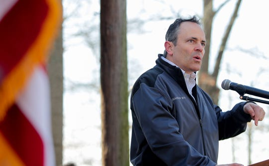 Gov. Matt Bevin sent a critical letter to Louisville Mayor Greg Fischer on Wednesday, asking how the mayor's administration could be so 'oblivious' to the state's pension problem.
