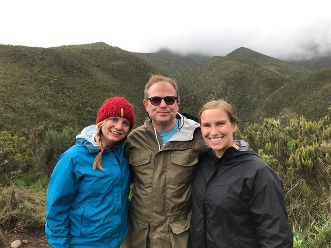 Jordan Grantz, John Grantz, Elliott Grantz Mount Kilimanjaro, Tanzania