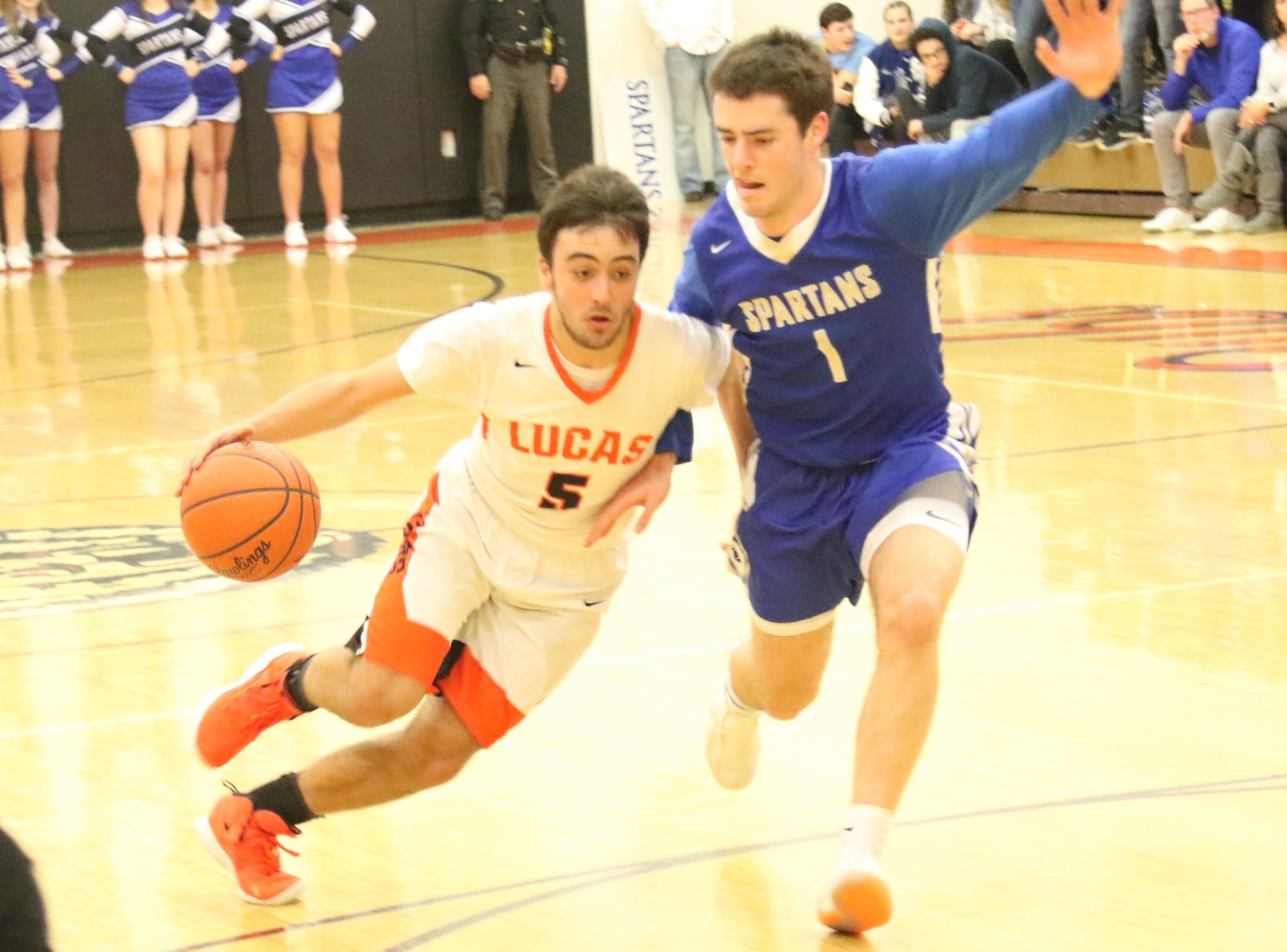 GALLERY: Lucas Cubs 65, St. Peter's Spartans 52