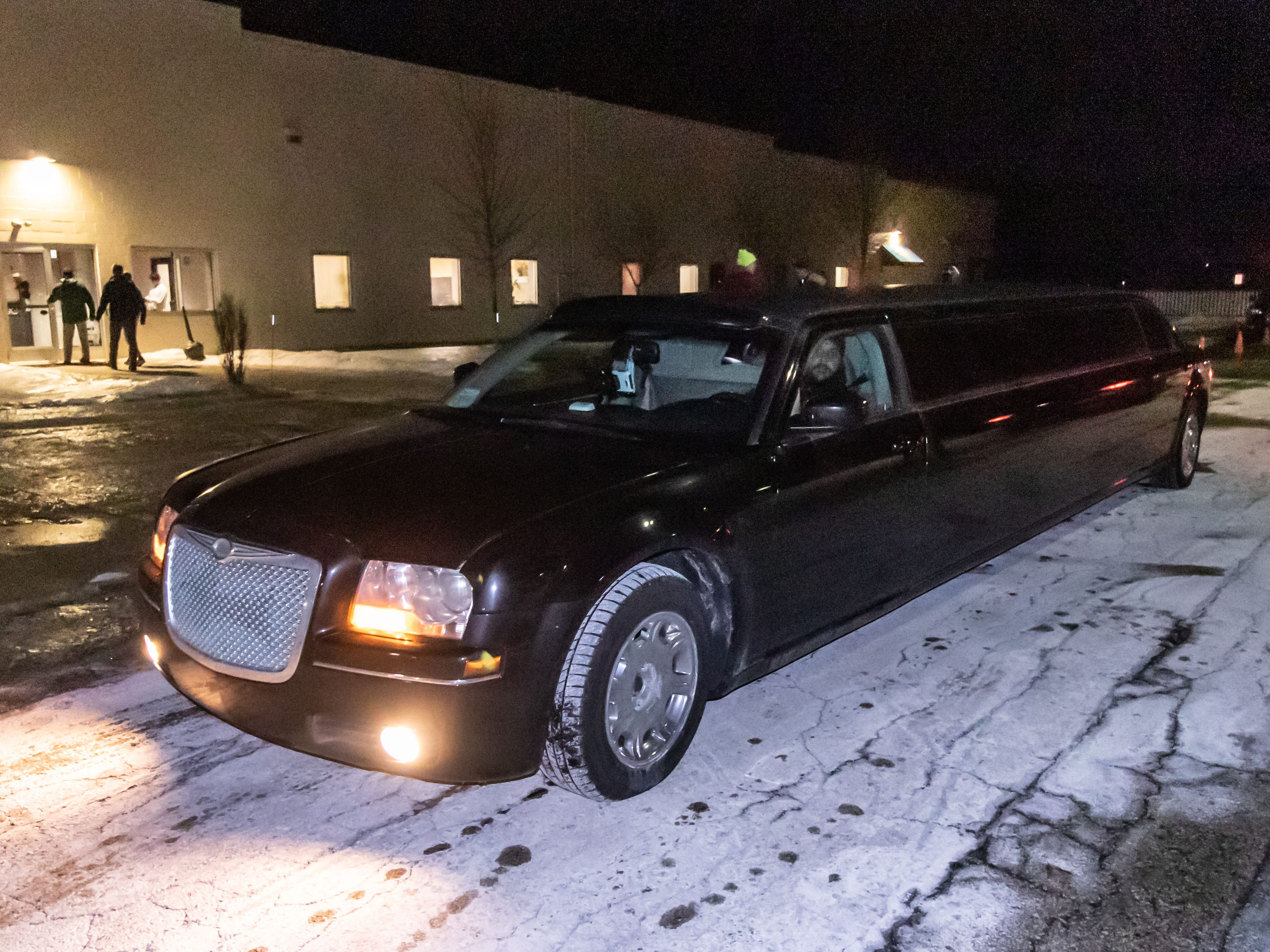 Guests experience a limousine ride during the Night to Shine Prom hosted by Brooklife Church in Mukwonago on Friday, Feb. 8, 2019. Night to Shine is a unforgettable prom night experience for people with special needs sponsored by the Tim Tebow Foundation. The event is hosted by local churches in all 50 states across the globe all on one night.