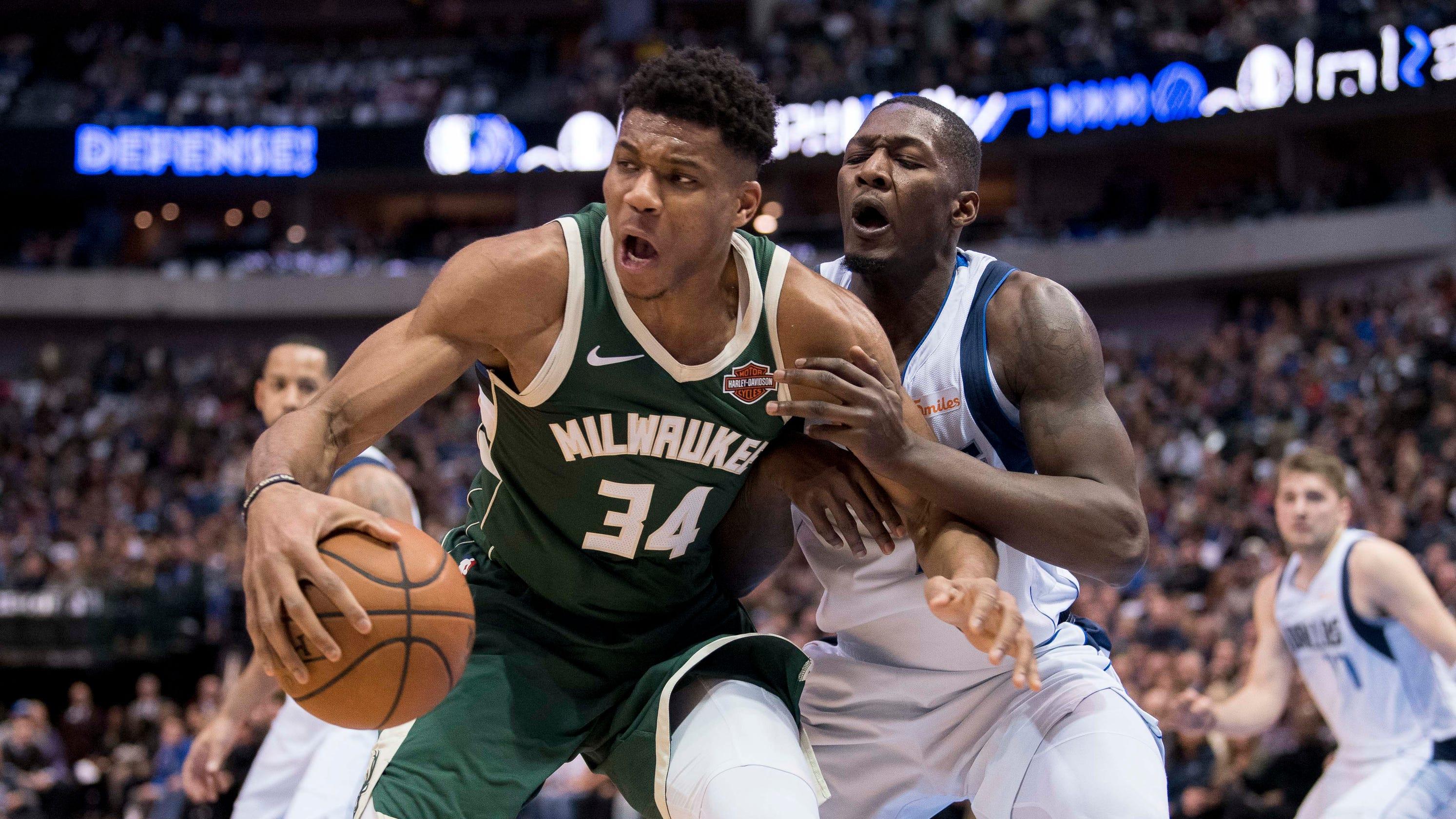 Bucks 122, Mavericks 107: Giannis leads Bucks to sixth strai