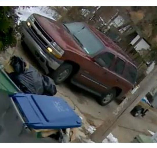 A man is accused of illegally dumping items from a trailer pulled by this vehicle.