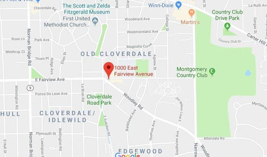 The incident occurred on the 1000 block of Fairview Avenue