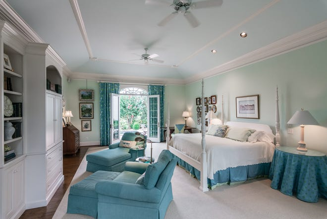 Michelle Patterson staged the bedroom of the house at 855 E. Main St. in Gallatin. The home is listed for $899,900.