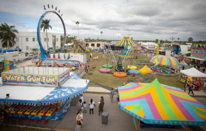 About 75,000 people were expected to attend the 49th annual seafood festival in Everglades City. The festival began Friday and concludes Sunday.