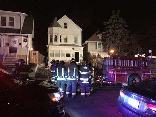 The Bloomfield Fire Department responds to Watsessing Avenue Feb. 8, 2019.