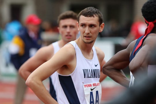 Ben Malone, former runner at Pascack Valley and Villanova, runs 3:58.90 in the mile race on Saturday, Feb. 9, 2019 at the David Hemery Valentine Invitational on Boston University's indoor track