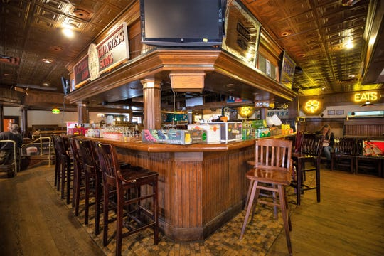 What once was the buzzing center of a good time at Dublin's Street Pub and Grill was a placeholder for boxes of items to be auctioned off on February 9, 2019.
