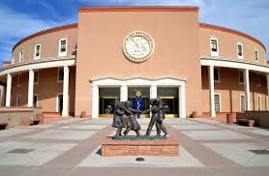 The New Mexico Legislature meets in the Round House in Santa Fe.