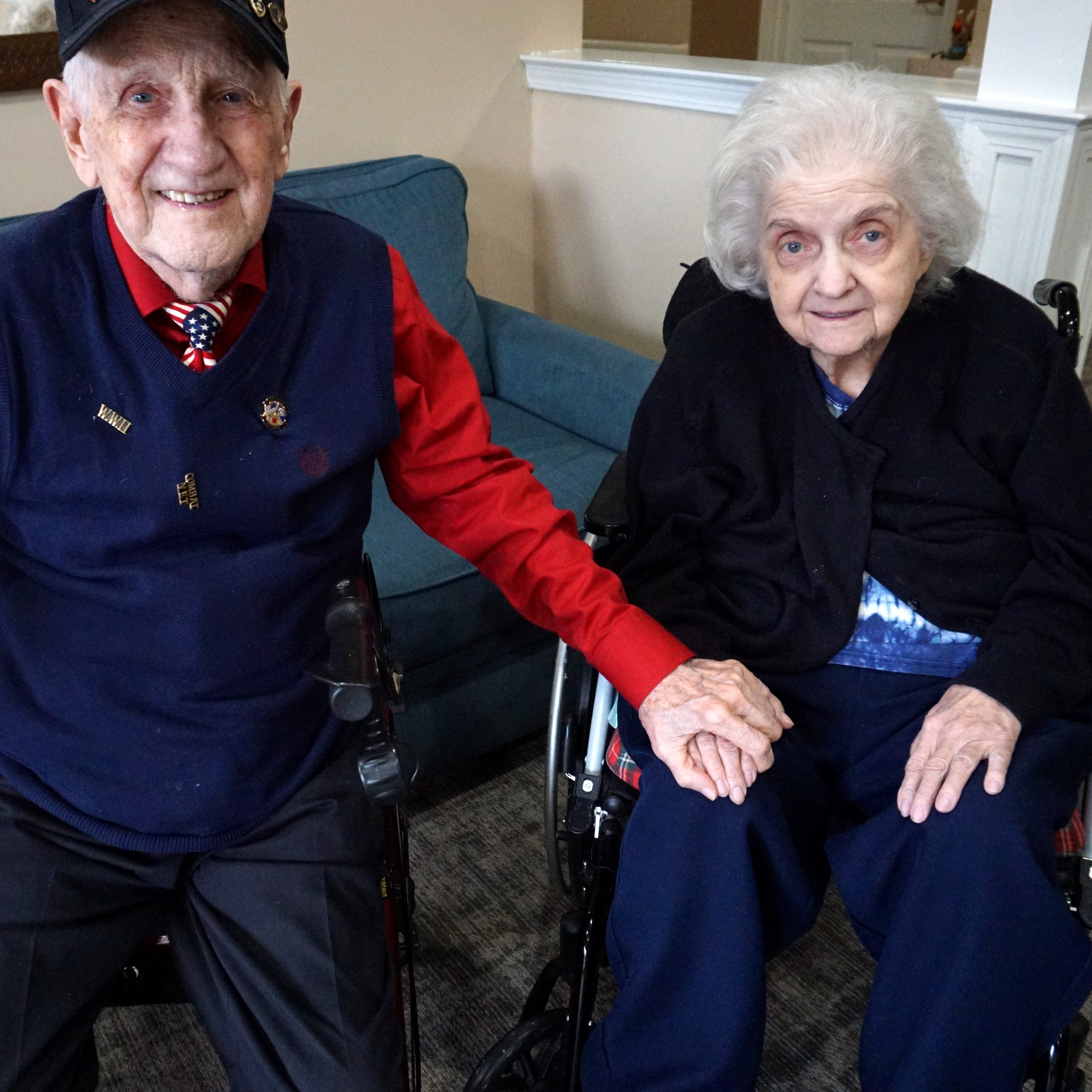 Valentines for life: West Bloomfield couple in their 90s in love for six decades