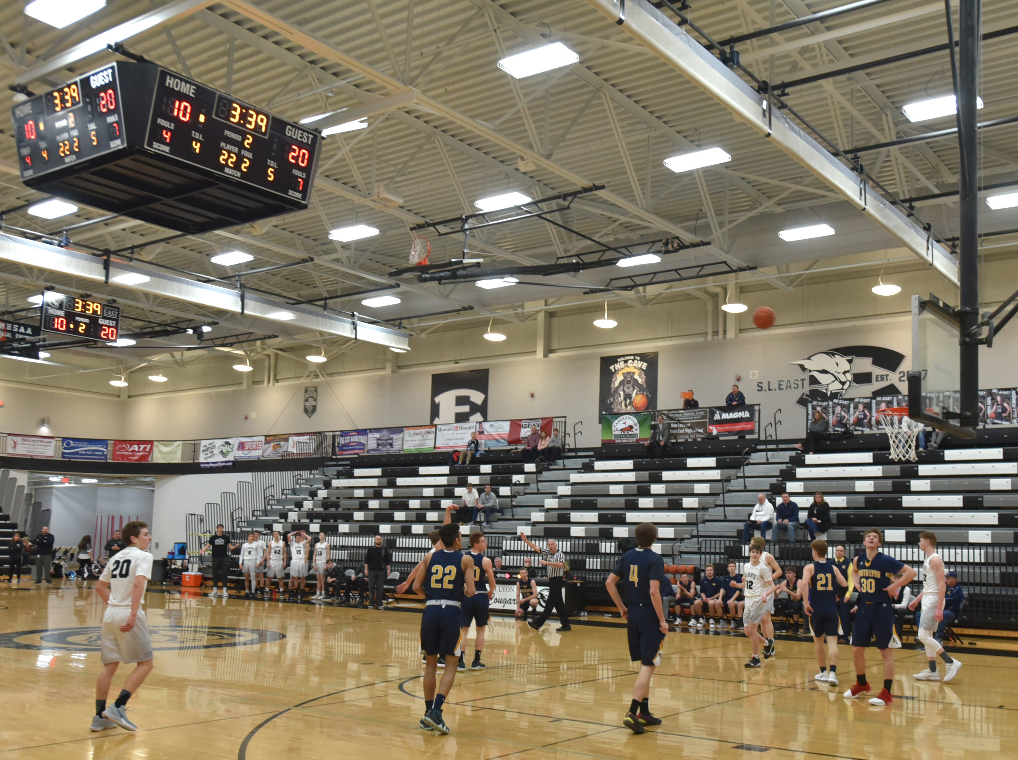 South Lyon visits South Lyon East on Feb. 8.