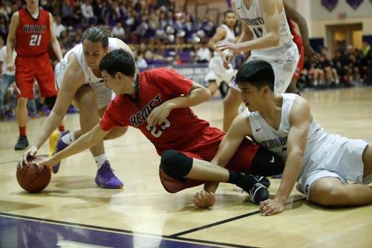 Shadow Hills High School's swarming defense made things tough on Hemet on Friday night.