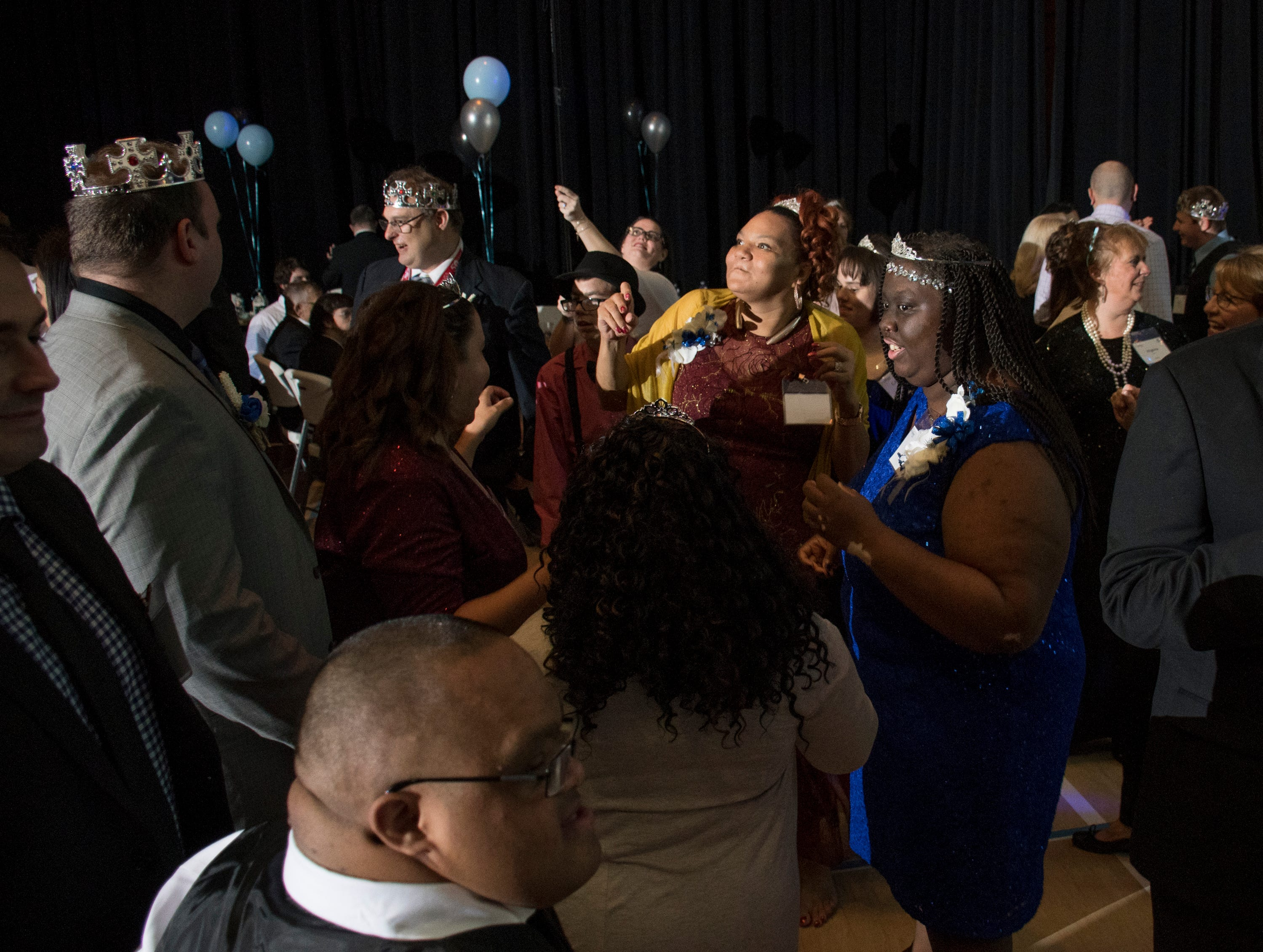 Night to Shine prom for people with special needs sponsored by the Tim Tebow Foundation at Perdido Bay United Methodist Church in Pensacola on Friday, February 8, 2019.