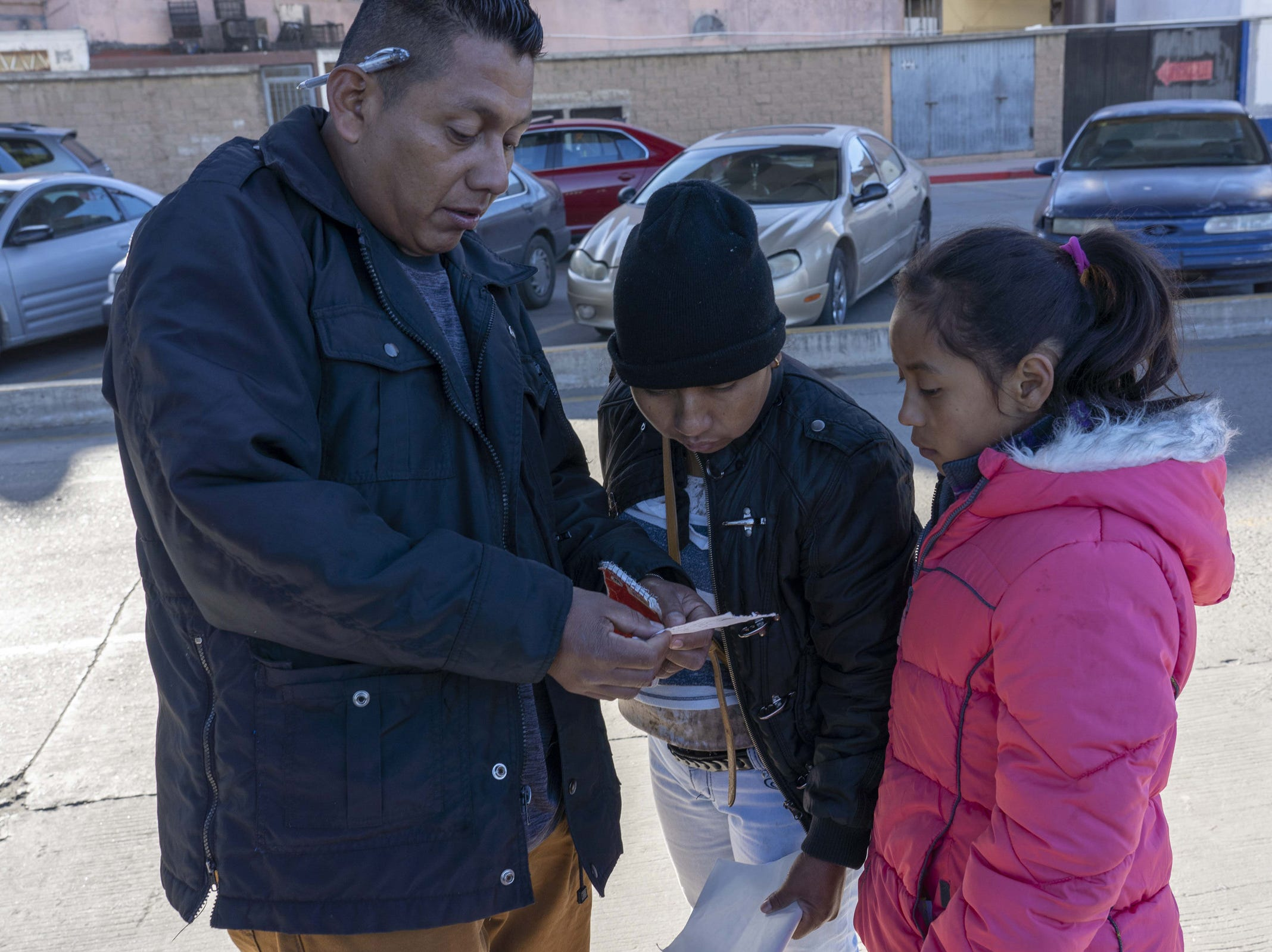 Omar Rivera Martinez and his family of five traveled to Tijuana with a large caravan in November. On Feb. 7, 2019, he was just one day away from having his family's number called to meet with U.S. immigration officials and claim asylum in the United States.