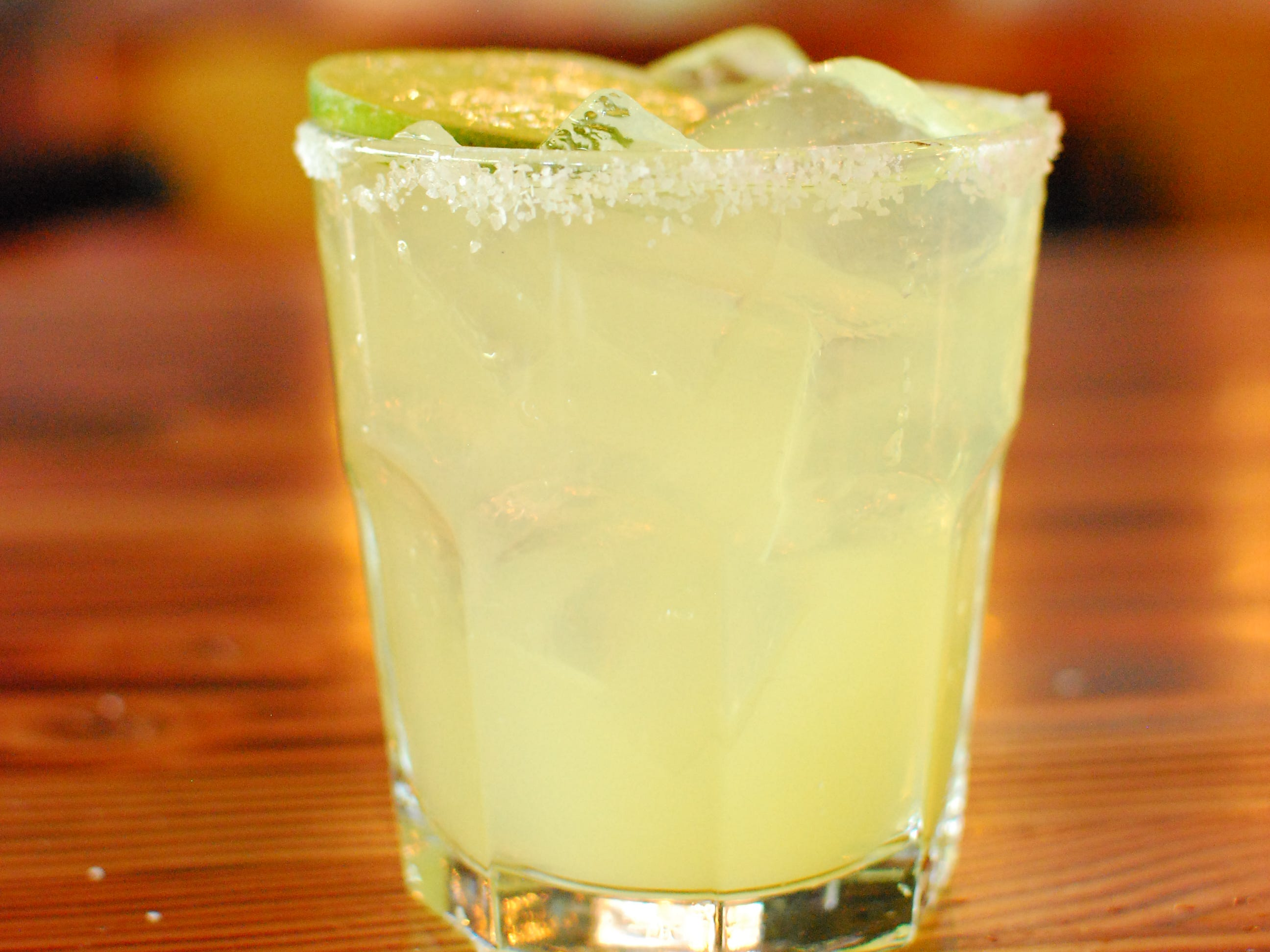 A margarita at Phoenix Ale Brewery Central Kitchen.