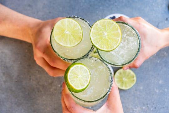 Margaritas at Blanco Tacos + Tequila.
