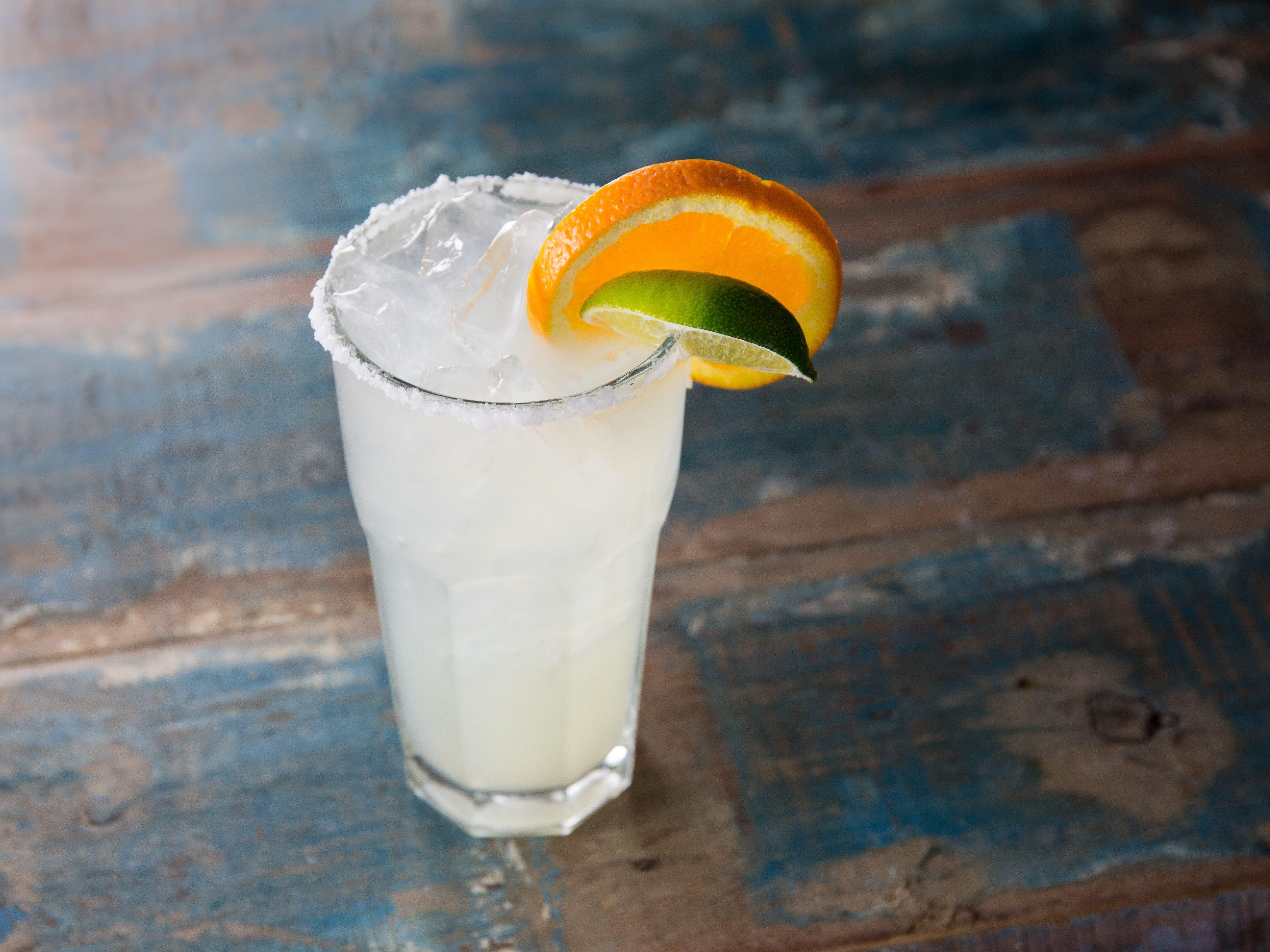 The Fresh Squeezed Margarita at Sierra Bonita Grill.
