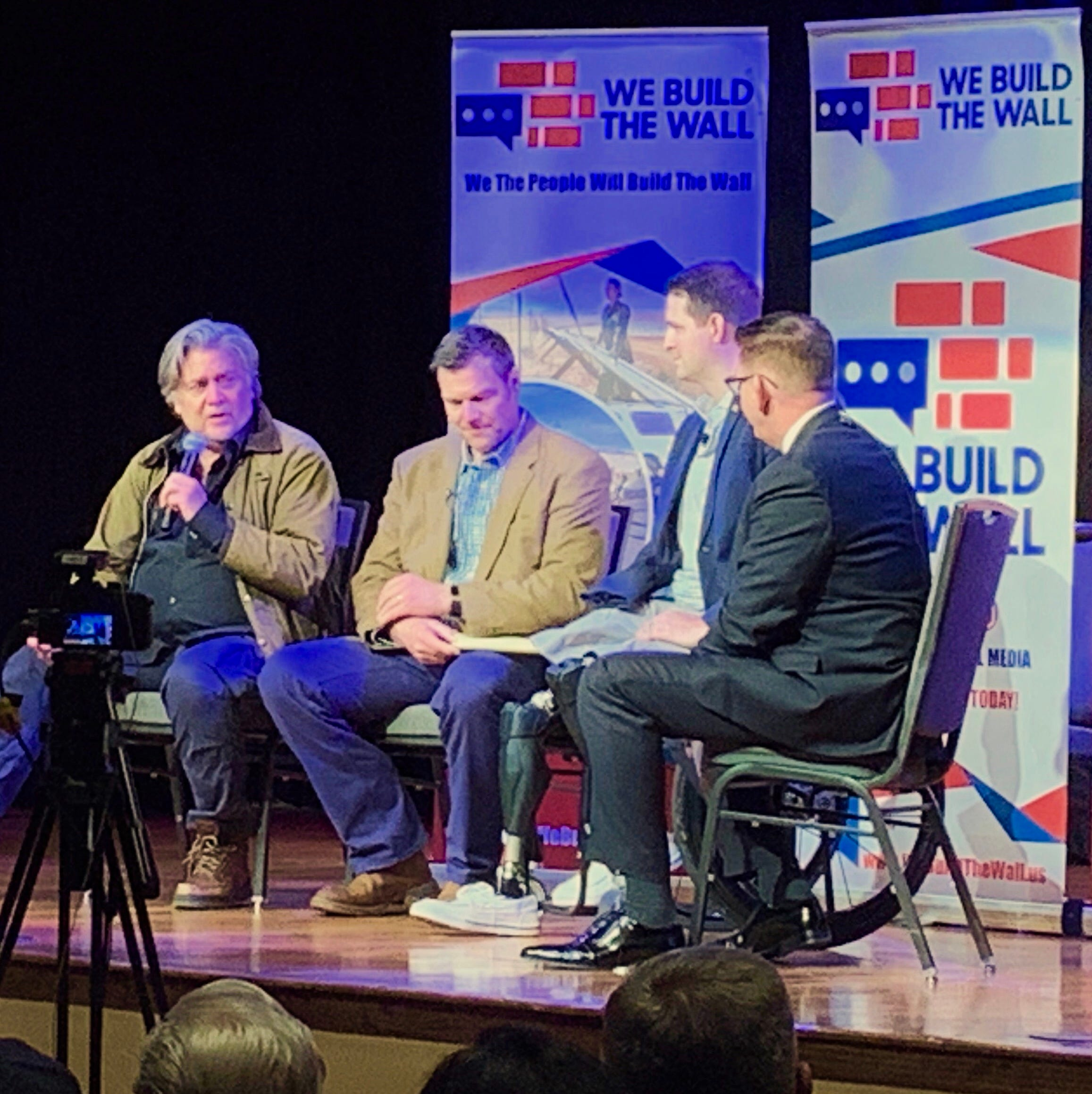 Border wall advocates promote plan at Green Valley town hall