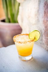 The It Takes Two to Tango margarita at The Vig Restaurant.