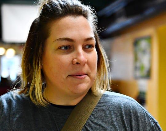 Brittany O'Farrell, of Stewartstown, at Southern York County Branch YMCA in Shrewsbury, Saturday, Feb. 9, 2019. Dawn J. Sagert photo