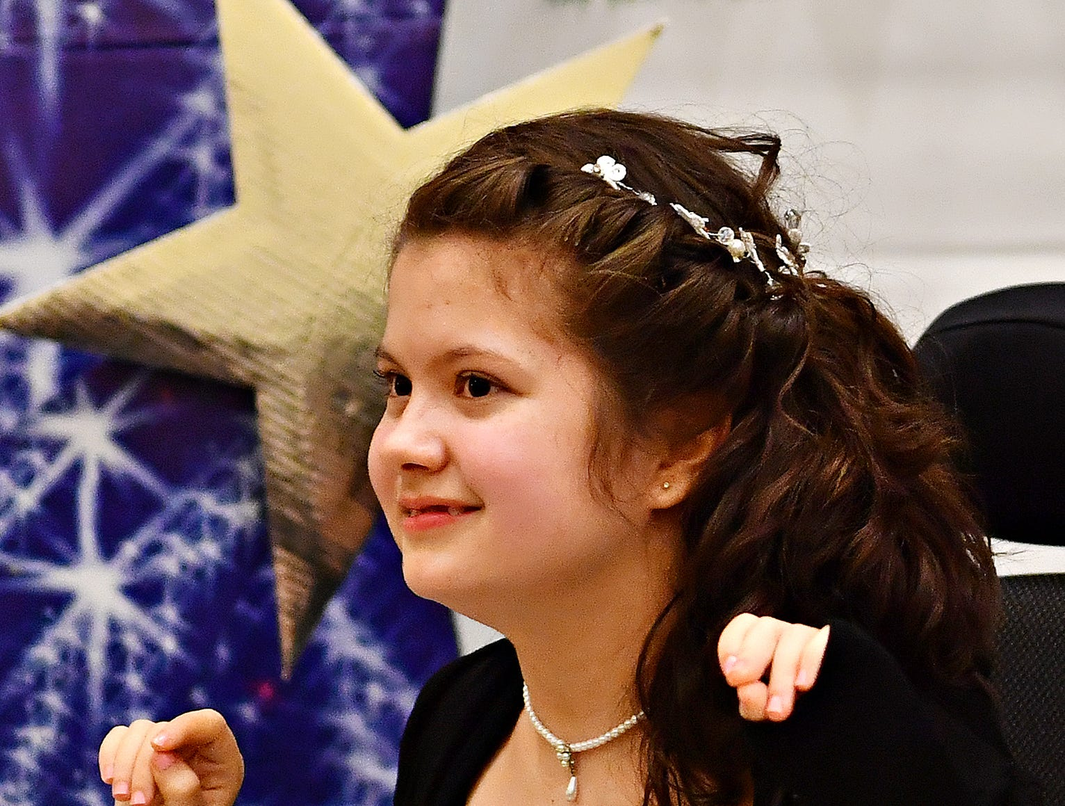 A Night to Shine, a Tim Tebow Foundation sponsored prom for people with special needs, at Friendship Community Church in Dover Friday, Feb. 8, 2019. Dawn J. Sagert photo