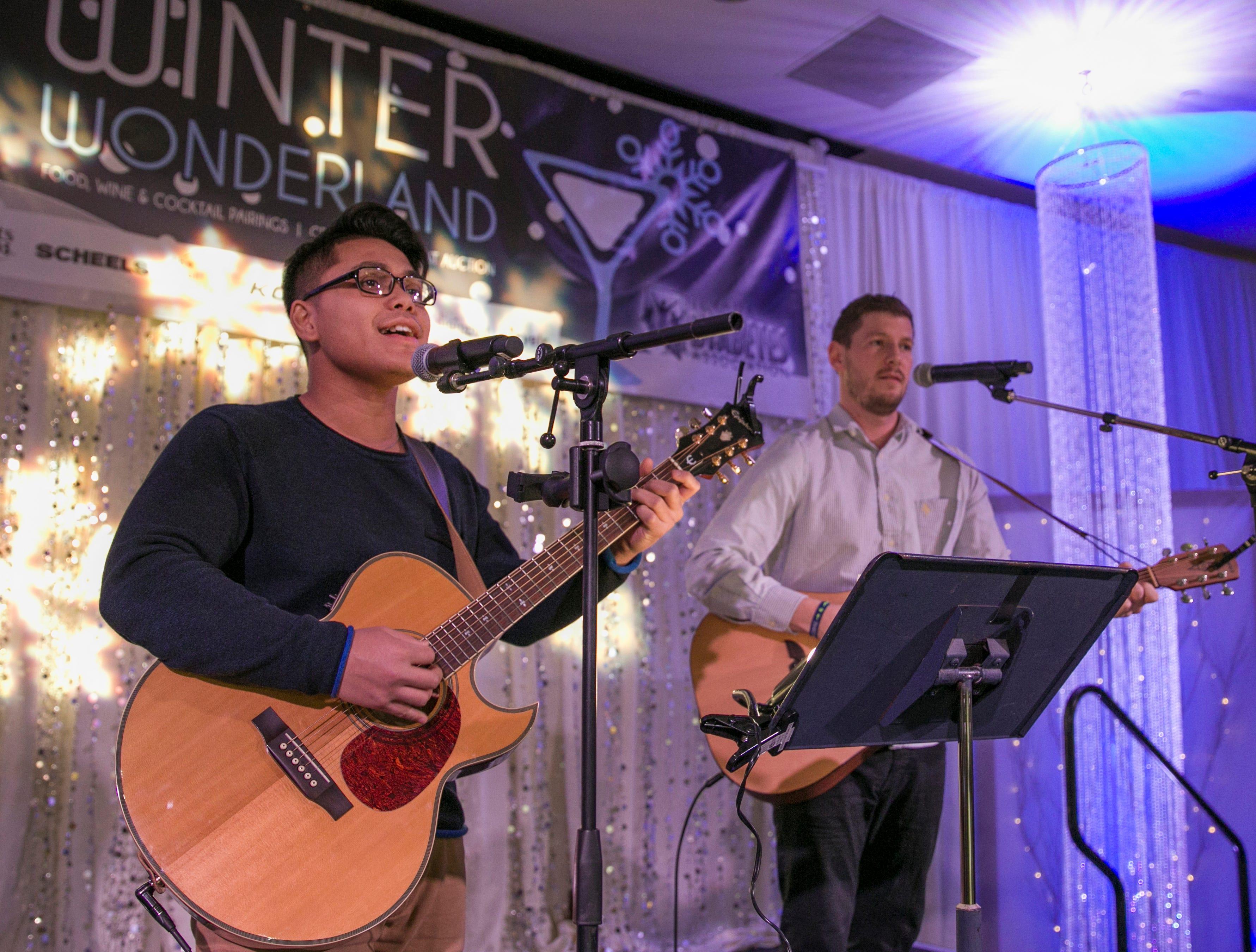 Photos from the Winter Wonderland on Thursday, Feb. 8