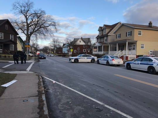 One person is dead after a shooting on Webster Avenue and Shafer Street on Feb. 9, 2019.