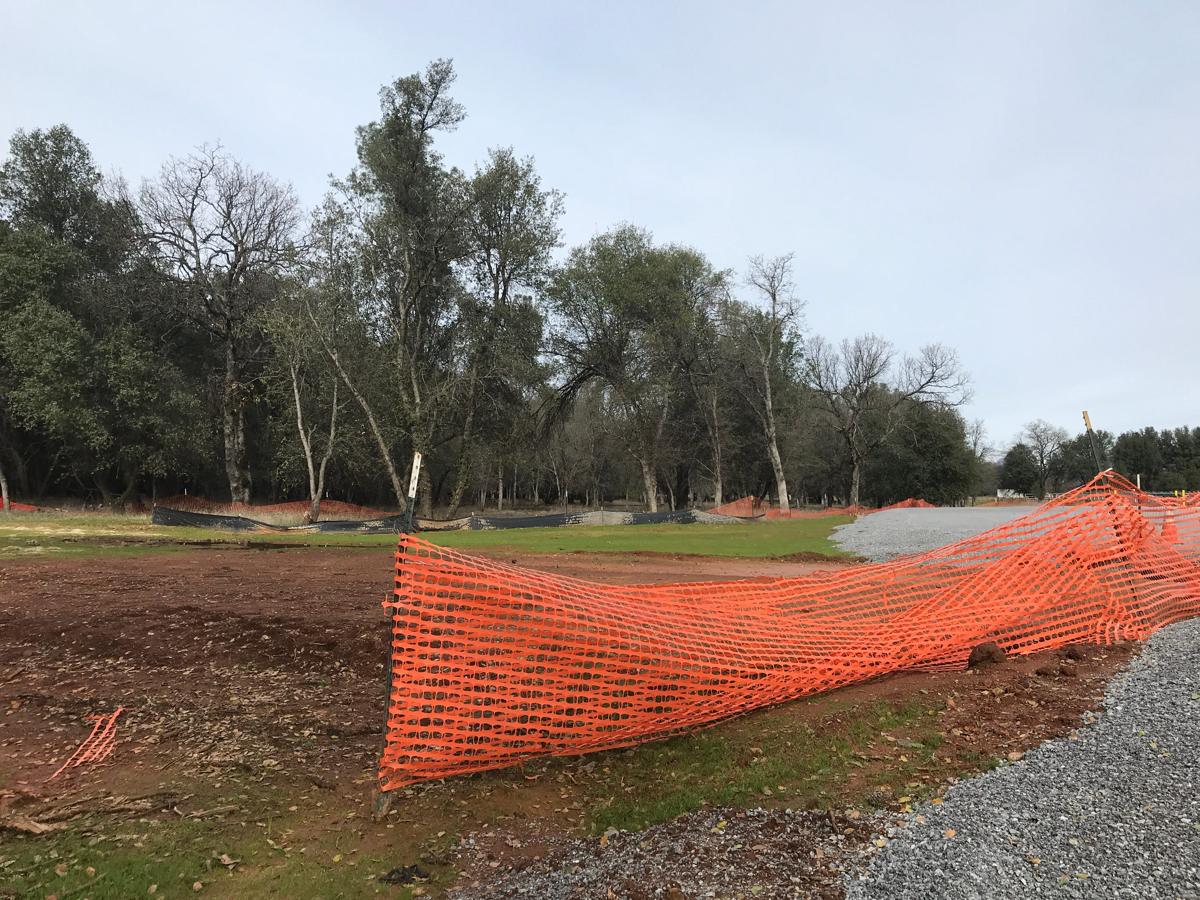 A fire station will be built here at the Shasta College fire academy's training center.