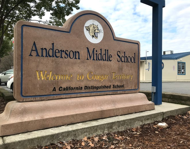 Anderson Middle School students will continue distance learning programs on Monday, May 3, 2021.