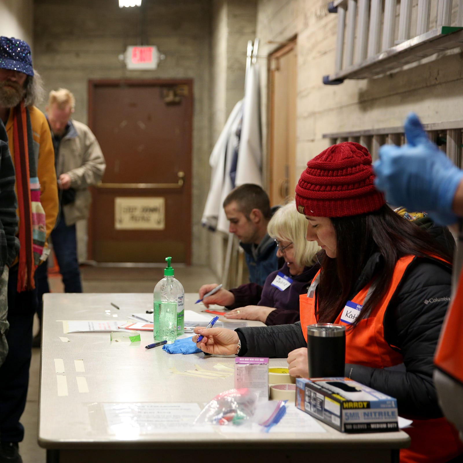 These are the people I've met while volunteering three winters at Salem's warming shelters