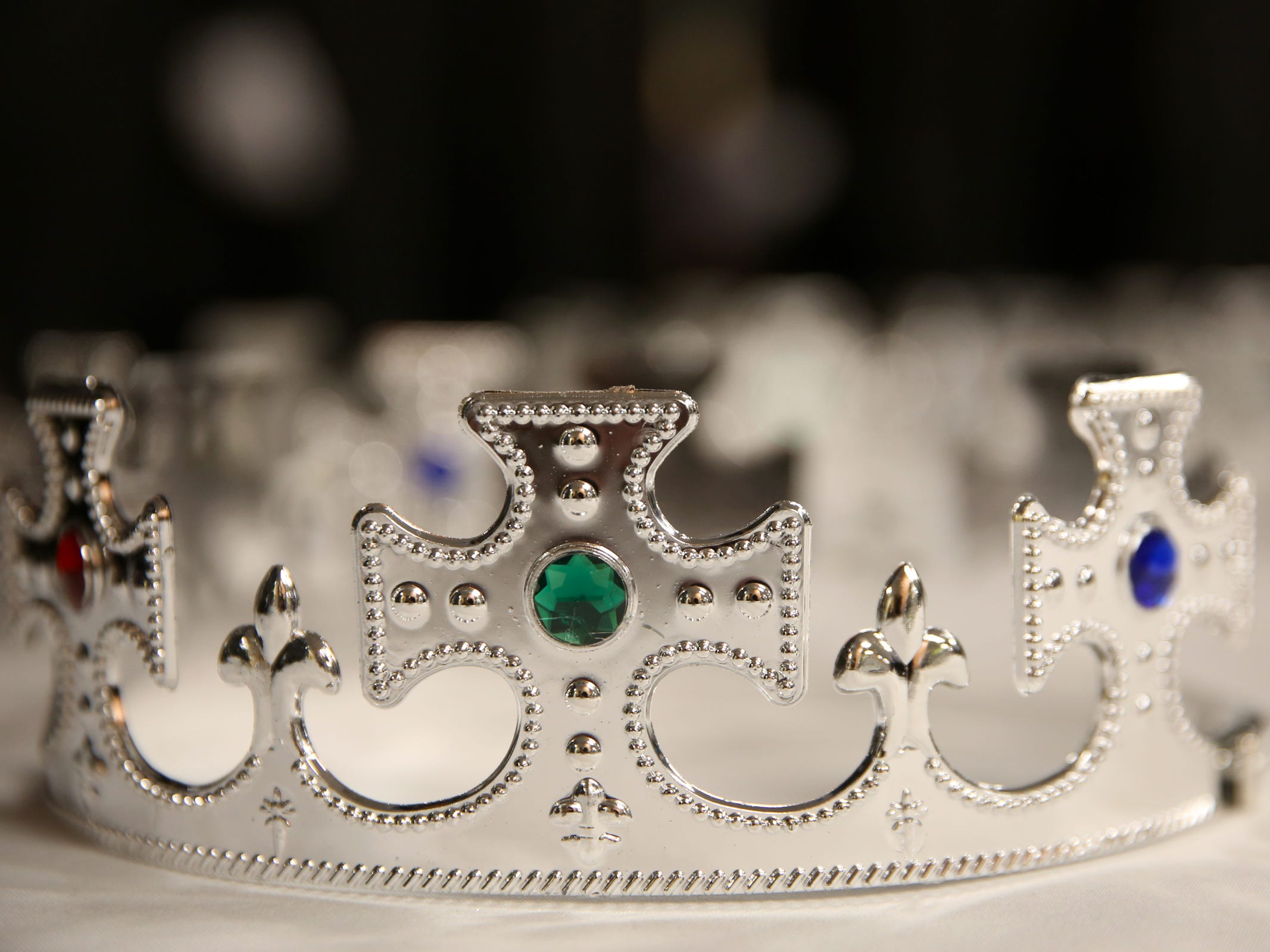 Crowns and tiaras were given out to attendees during Night to Shine, a prom night experience for people with special needs, at Salem Alliance Church on Friday, Feb. 8, 2019.