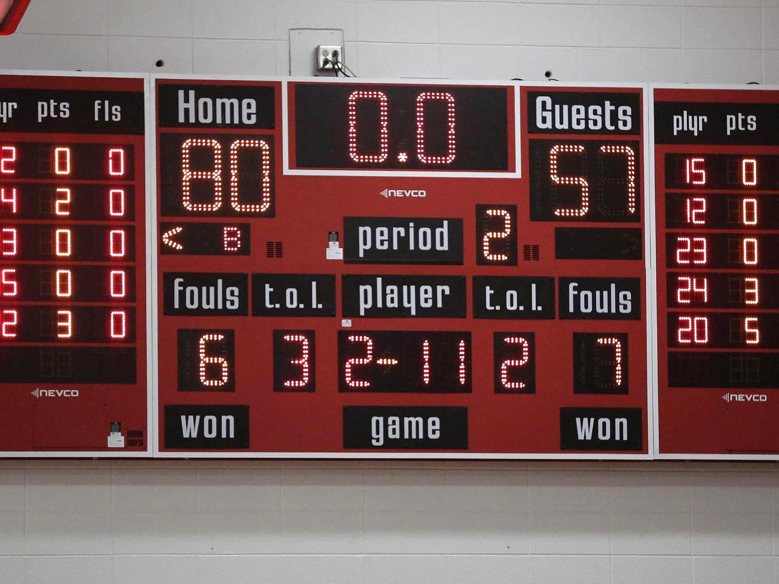 FINAL - Oostburg 80, Manitowoc Lutheran 57, Friday, January 8, 2019, in Oostburg, Wis. Gary C. Klein/USA TODAY NETWORK-Wisconsin