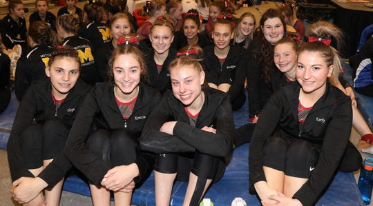 Deuel won its second consecutive Class A state gymnastics team title Friday in Brookings.