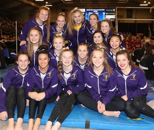 Watertown won its second Class AA gymnastics team title in the last three years Friday in Brookings.