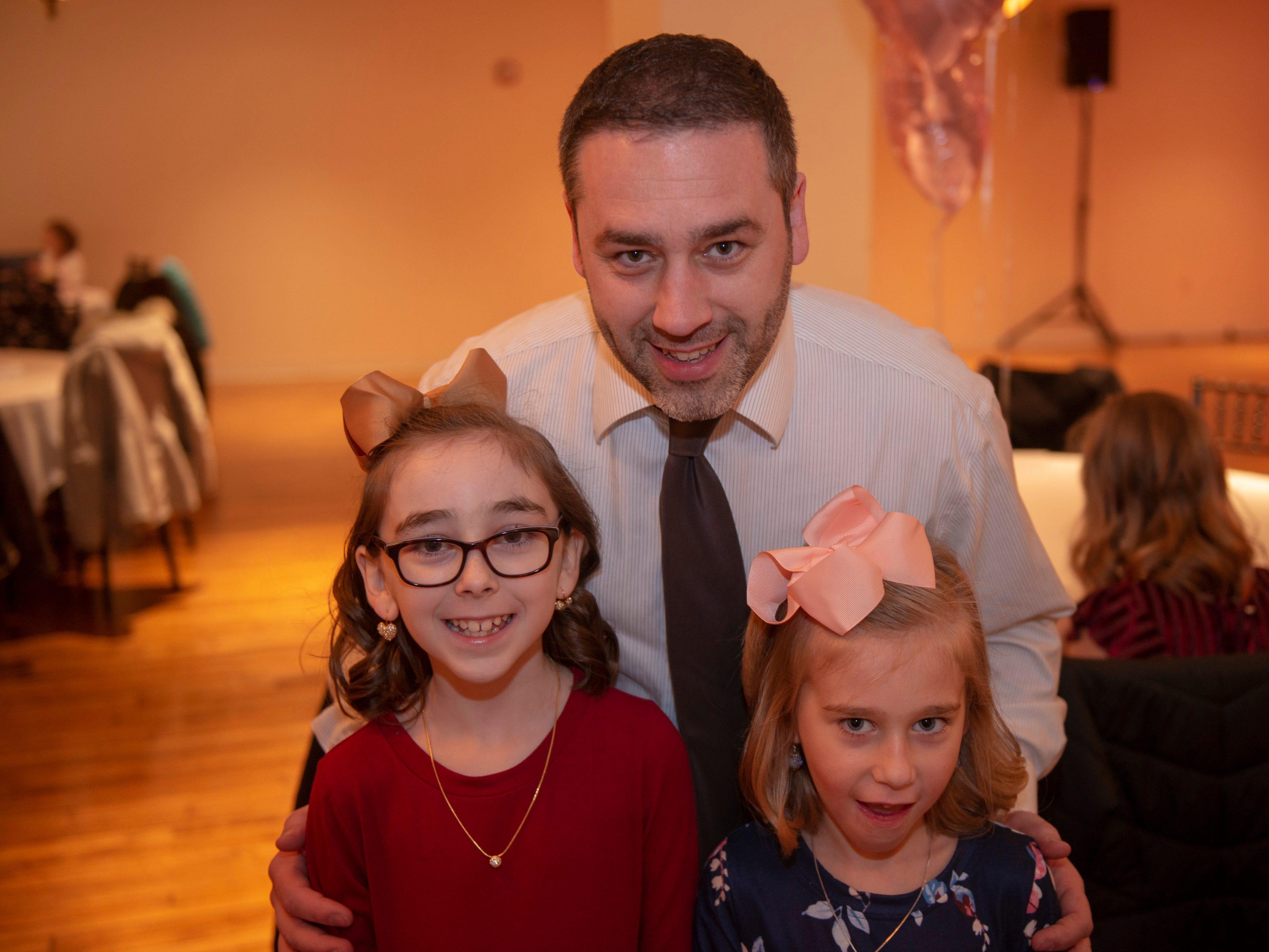 Addison, Olivia and Luke Cornwell