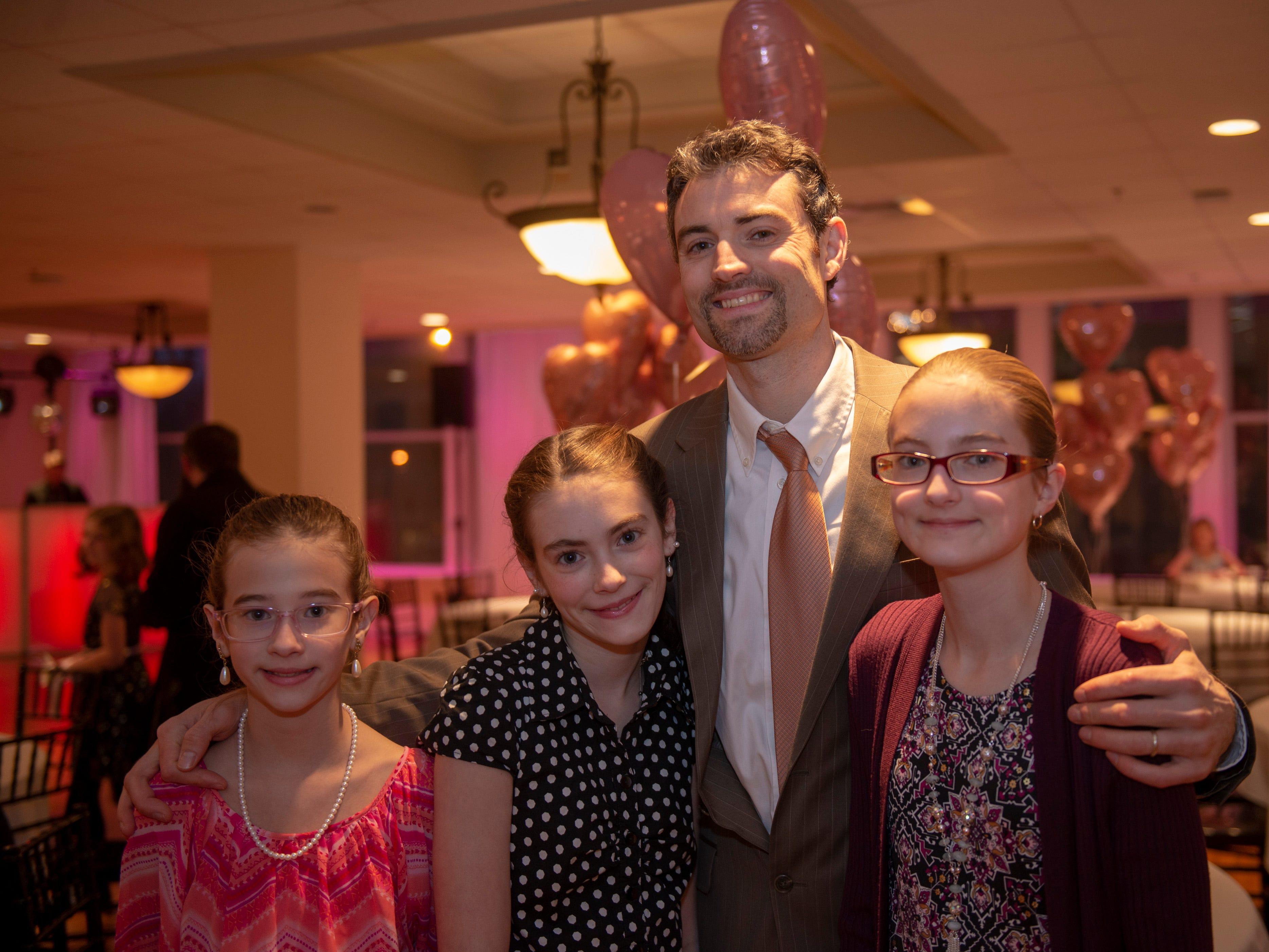Juda, Ariel, Brielle and Shiloh Fansler
