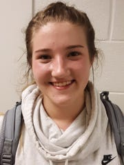 Stuart Draft's McKinley Fitzgerald had 15 points in her team's loss Tuesday night.
