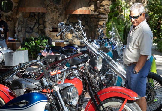 The Treasure Coast Motorcycle Show and Swap Meet is Saturday and Sunday at Causeway Cove Marina in Fort Pierce.