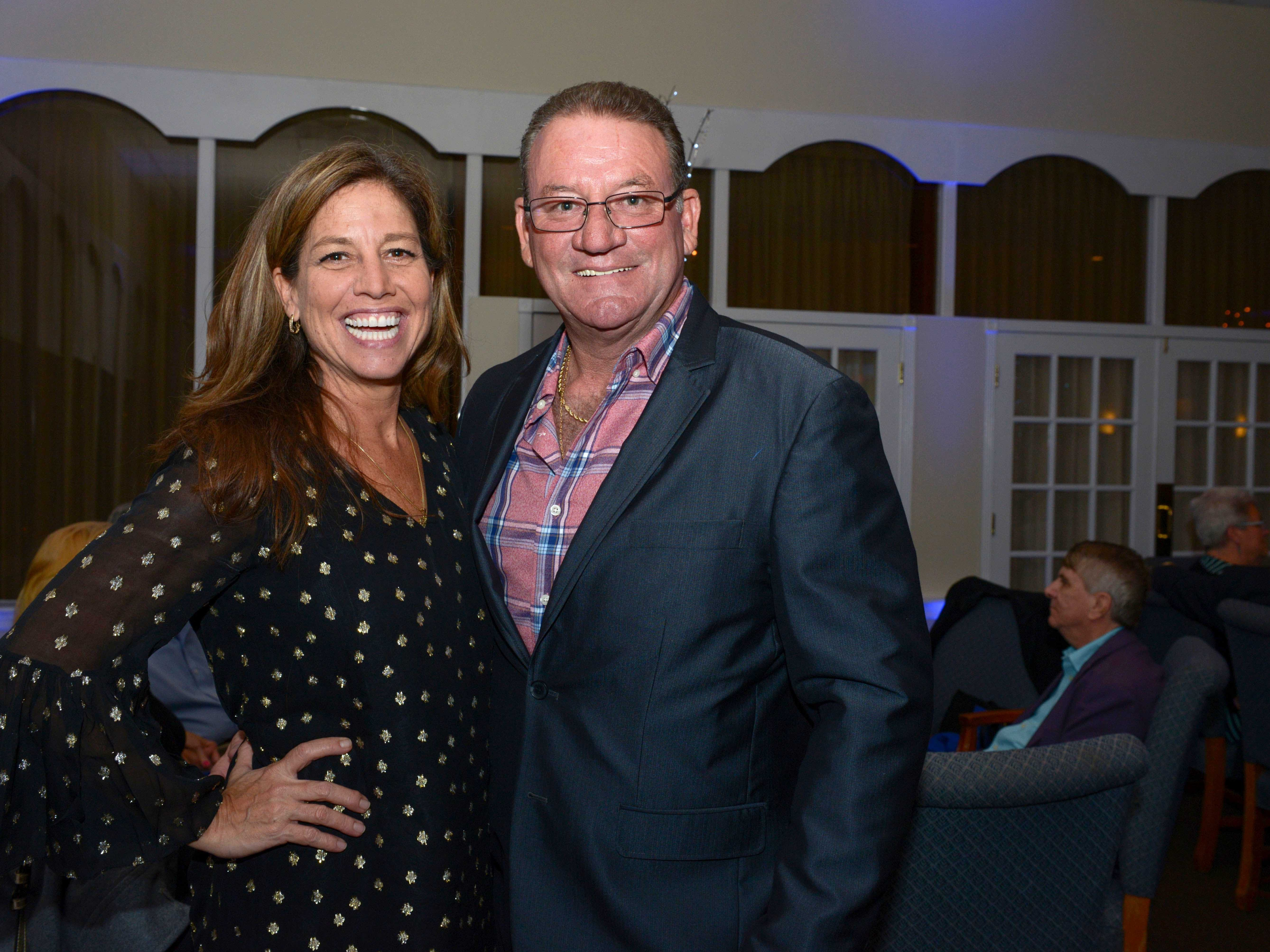 Monique and Scotty Bruhn at Family Meals' Black Tie, Blue Jeans & Bingo fundraiser in Fort Pierce.