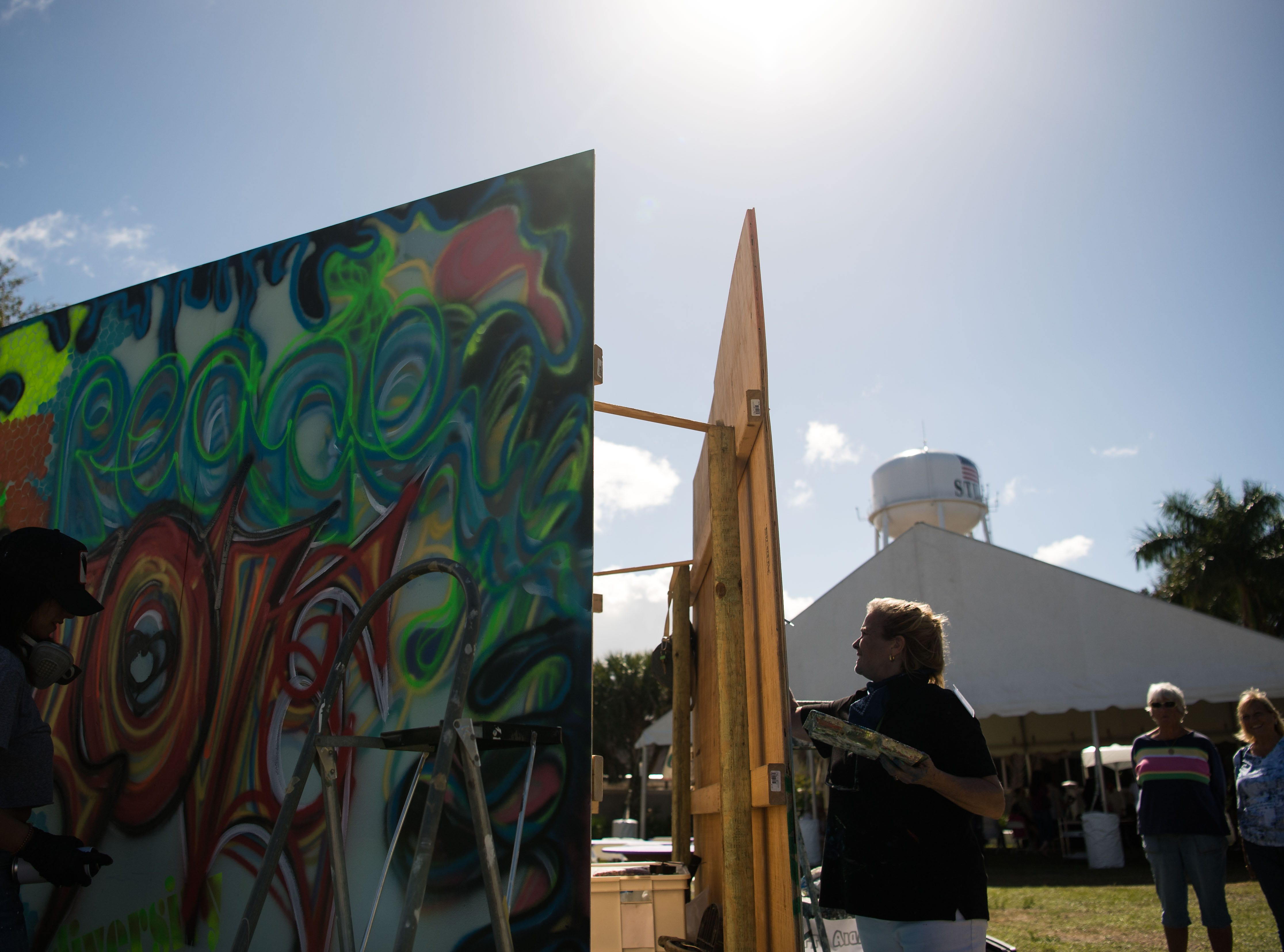 "The Arts Council of Martin County's ArtsFest 2019, themed ""Succumb to Your Senses,"" opens for the weekend Saturday, Feb. 9, 2019, at Memorial Park in downtown Stuart."